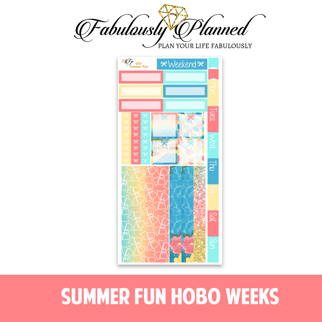 Summer Fun Hobonichi Weeks Kit
