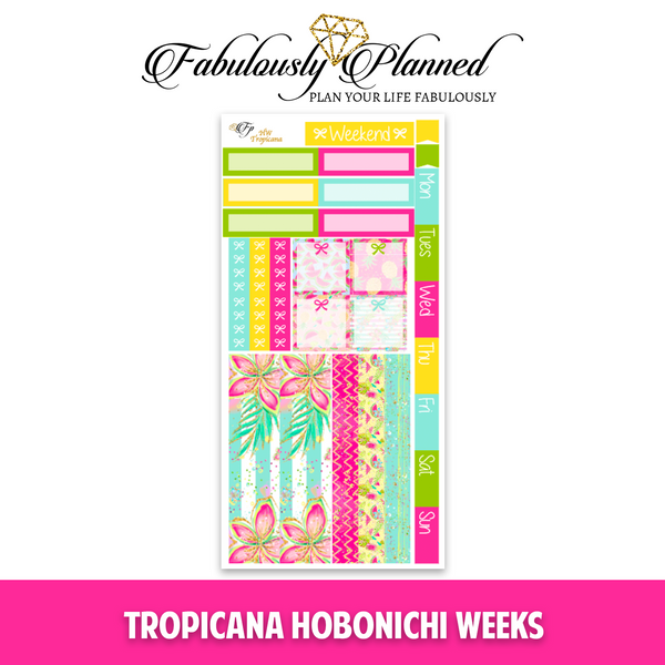 Tropicana Hobonichi Weeks Kit