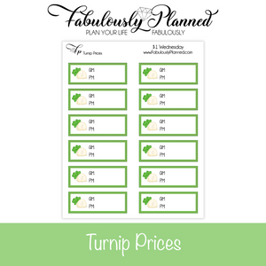 Turnip Prices