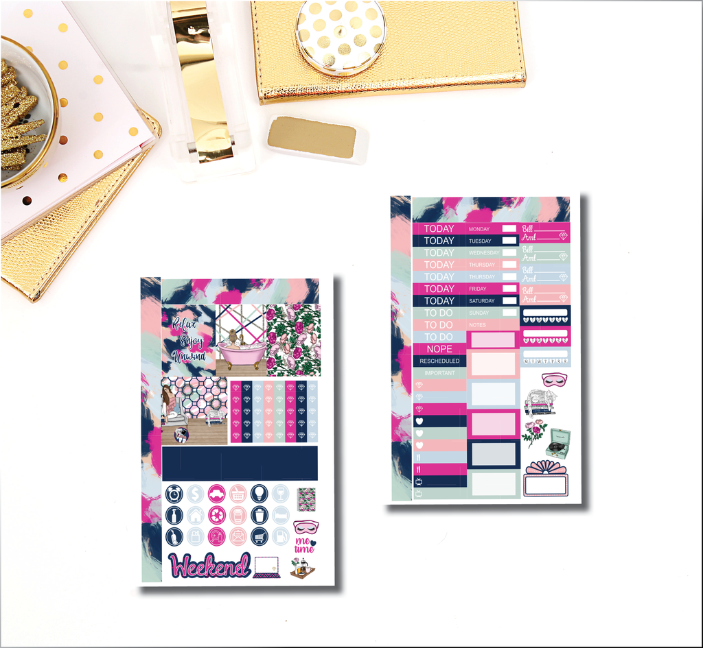 Unwind Mini Happy Planner Kit