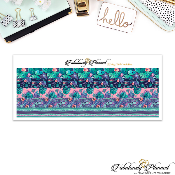 Wild and Free Skinny Washi