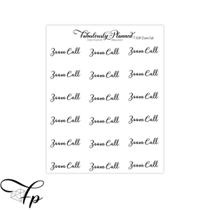 Zoom Call Transparent Script