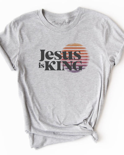 Jesus is King - Tee
