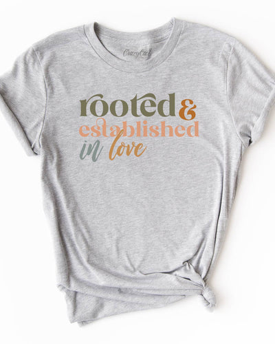 Rooted and Established - Tee