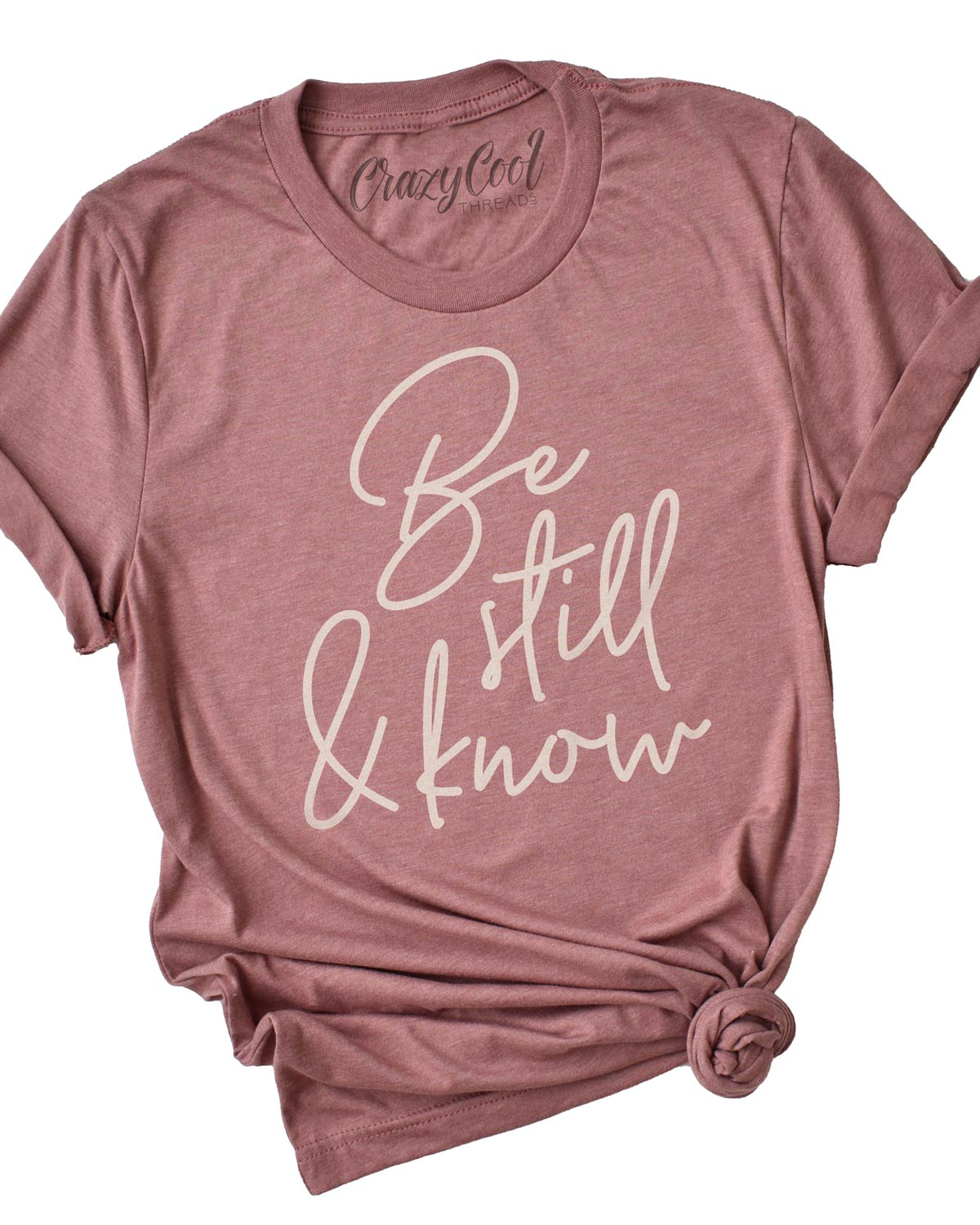 Be Still & Know - Tee