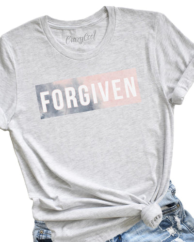 Forgiven (Watercolor) - Tee