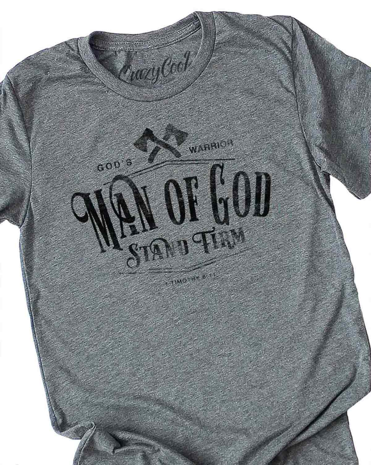 Man of God - Tee