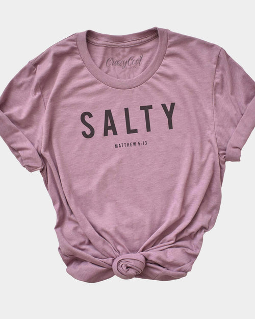 Salty - (Orchid) Tee