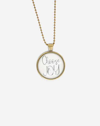 Choose Joy - Necklace