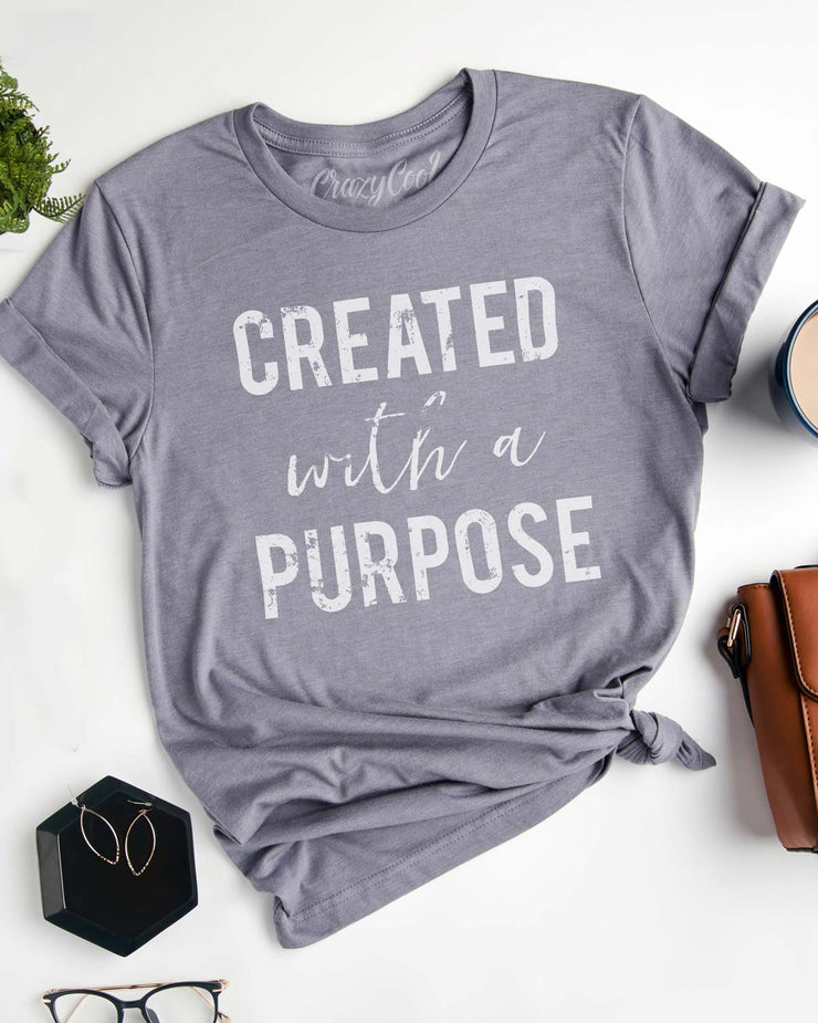 Created with a Purpose - Tee