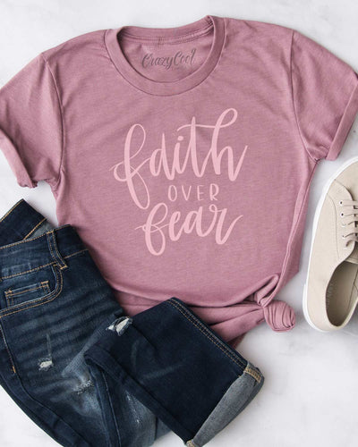 Faith Over Fear (Spring) - Tee