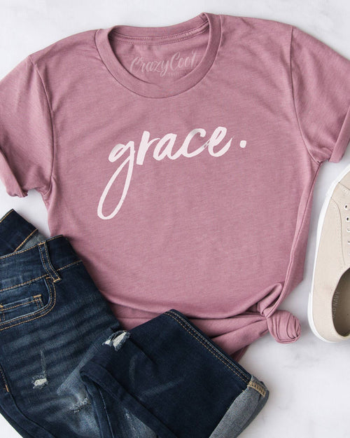 Grace. (Orchid) - Tee