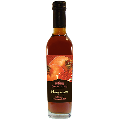 Cape Treasures - 250ml Balsamic Reduction - Pomegranate