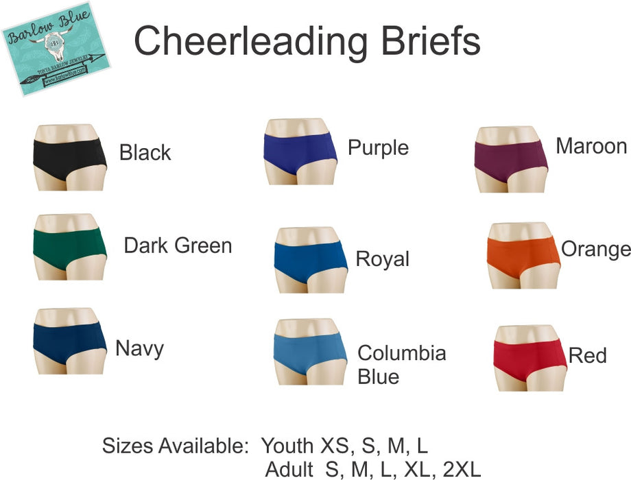 Cheerleading Briefs / Bloomers