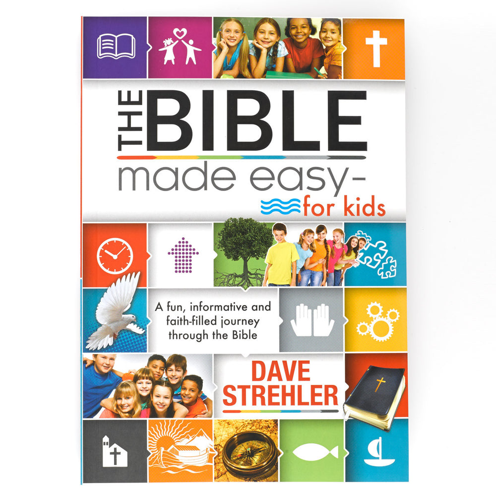 The Bible Made Easy For Kids.  375 Interactive Pages for Ages 8-12.