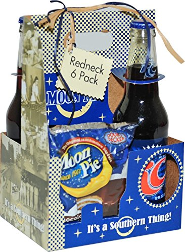 Red Neck 6 Pack.  2 RC Cola's & 4 Moon Pie's in a cute Moon Pie Carrier.  Perfect for Valentine's Day for the Man in your Life!