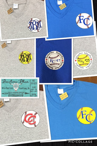 Baseball & Softball Tees