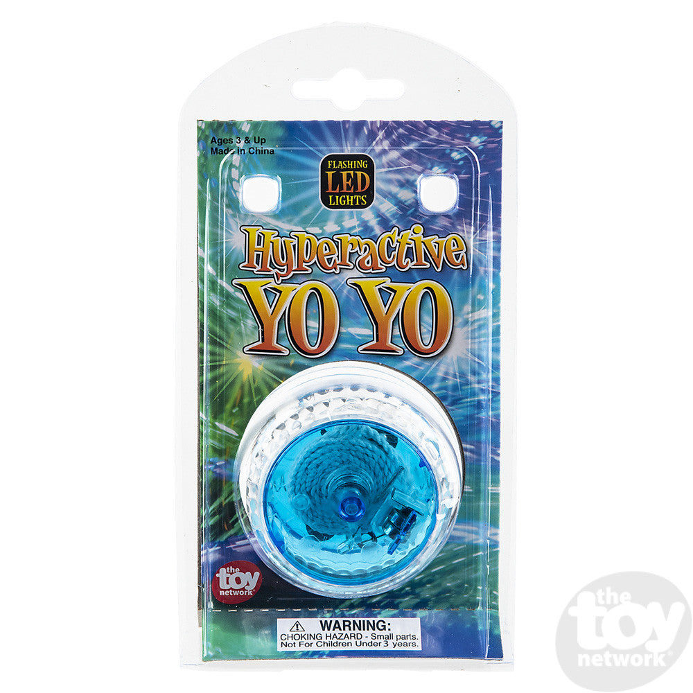 "2.25"" Light-Up Hyperactive Yoyo"