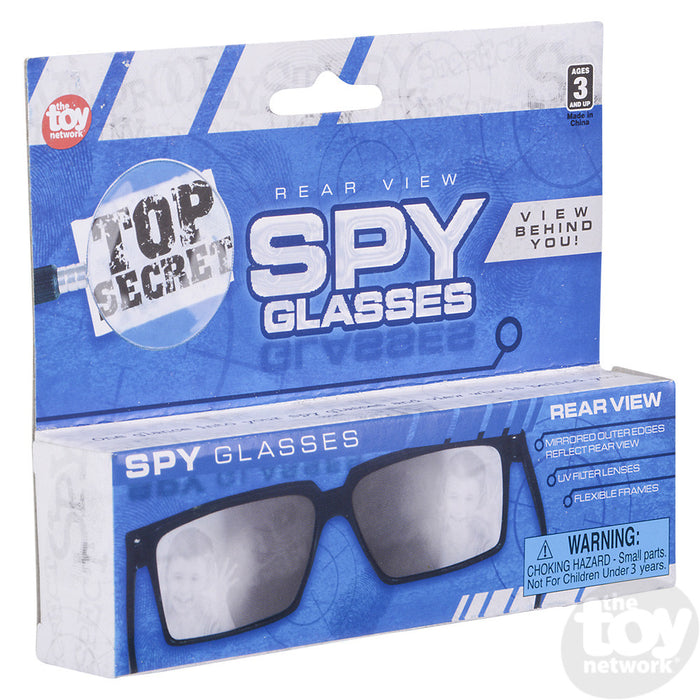 Spy Glasses.  You can look behind you while wearing them.