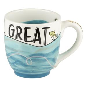 You're Reel Great Ceramic Mug by Glory Haus