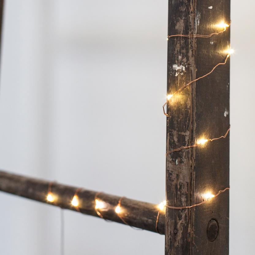 Battery Operated String Lights.  Decorate your space!