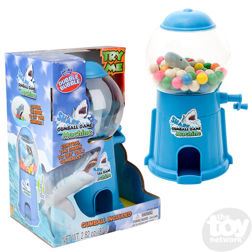 "9"" Shark Gumball Machine Game.  Crank Operated."