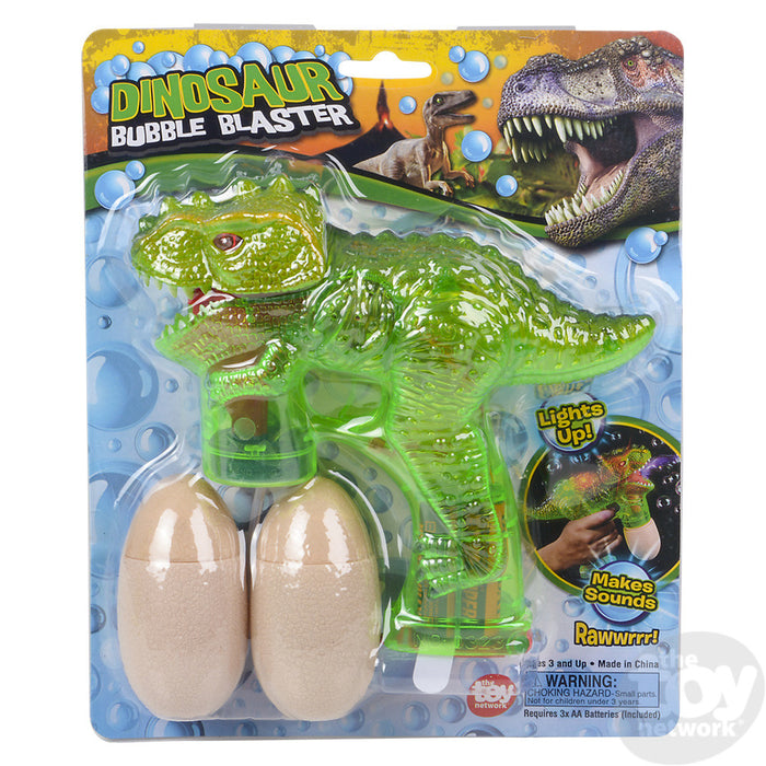 "8"" Light-up T-Rex Bubble Blaster"