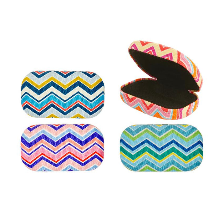 Striped Travel Case.  Perfect for Holding Small Pieces.