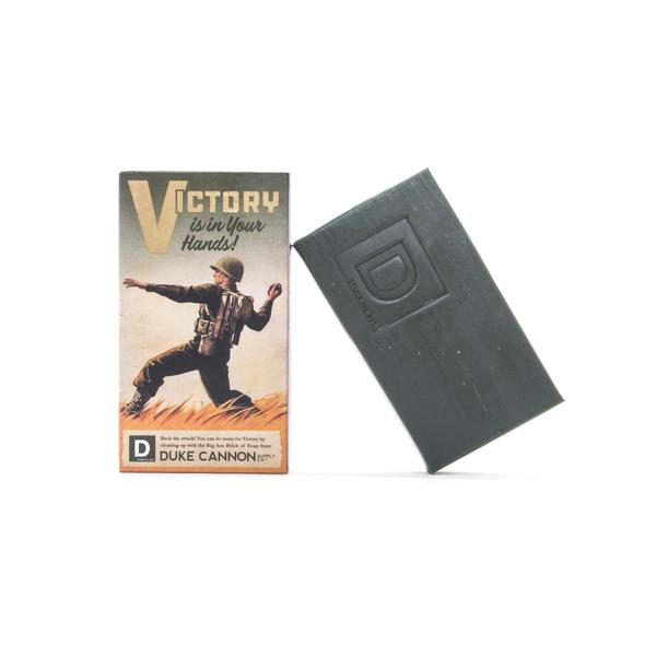 Smells Like Victory -Duke Cannon Men's Soap