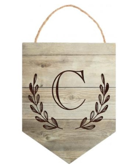 Personalized Wooden Banner. Can say anything you want, some ideas are shown.