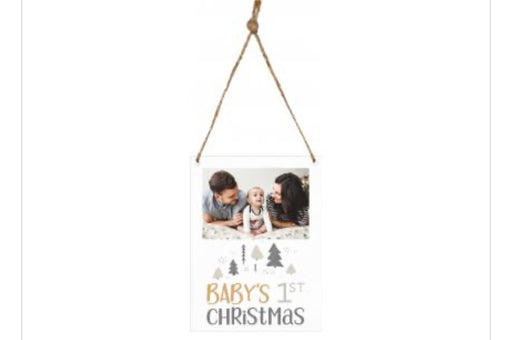 Small Christmas Picture Frame Ornament
