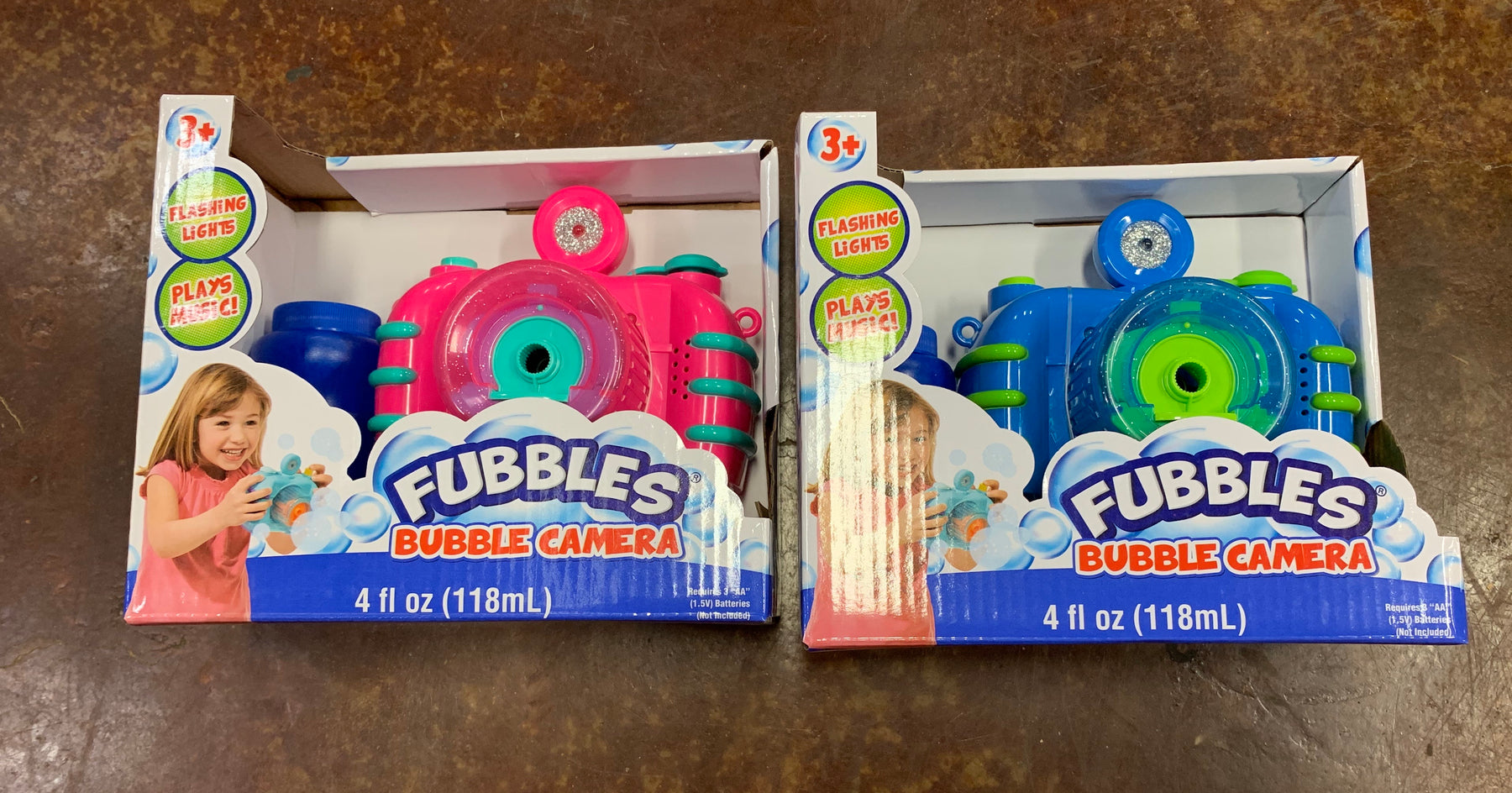 Fubbles!  Bubble Camera.