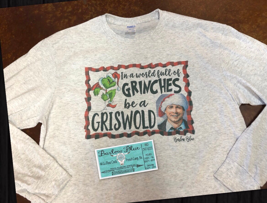 Grinches to Griswold Long Sleeved Tee