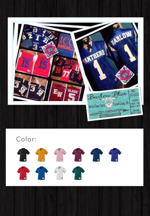 Football Fan Jersey - Toddler, Youth & Adult Sizes!
