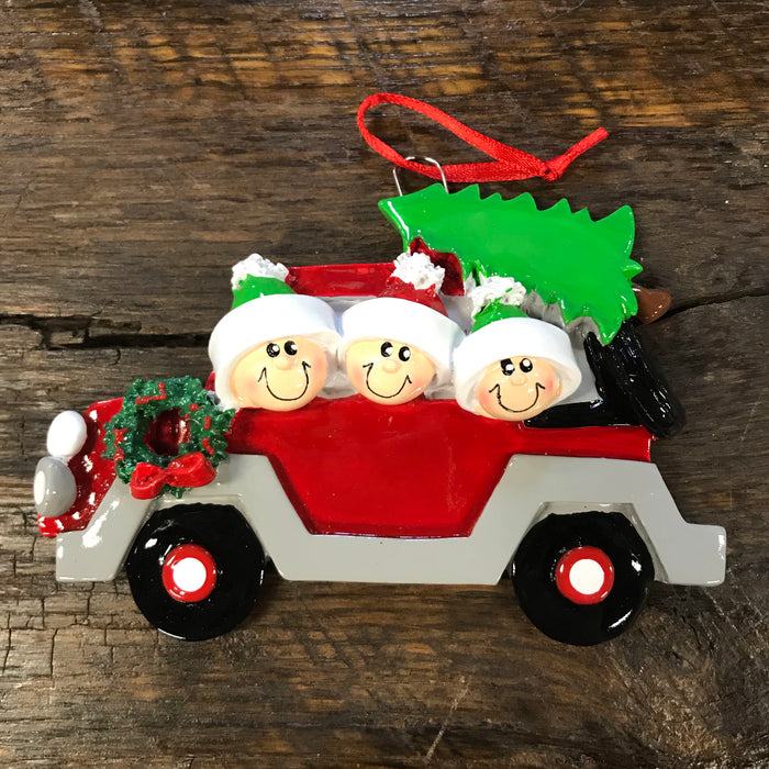Christmas Tree Caravan Ornament