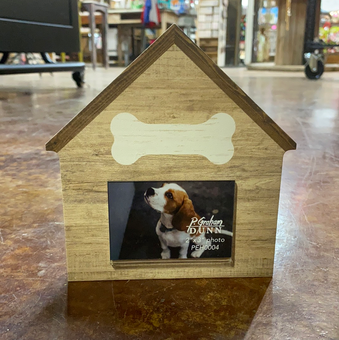 Dog House Frame.  Can be personalized with Dog's name.