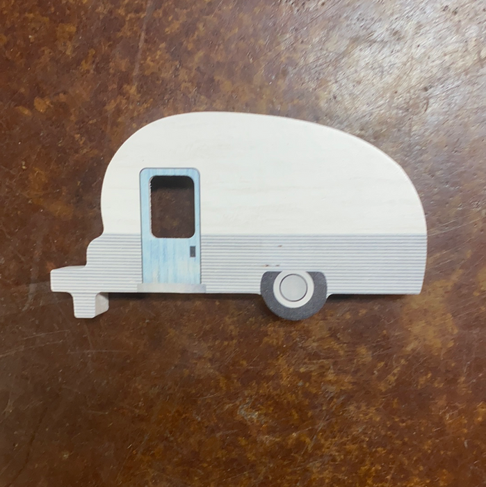 Personalized Camper.  Can say anything you want, some ideas are shown.