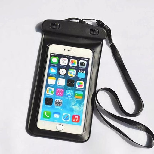 Waterproof Phone Pocket with Lanyard. Perfect for the beach, lake, pool or a cruise!  CLEARANCE!