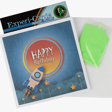 Experiment Cards.  Cards with an activity included!