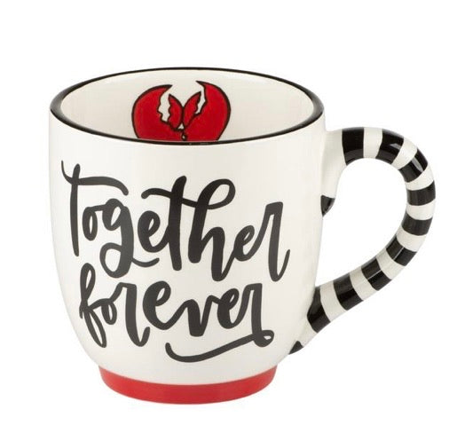 Together Forever Ceramic Mug by Glory Haus