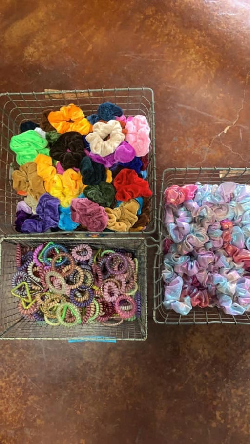Scrunchies/Telephone Coil Hair Ties