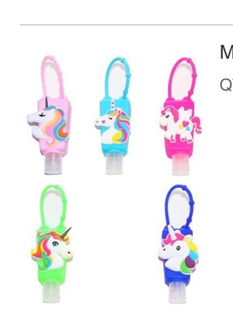 Hand Sanitizer with Backpack Holder for Kids!  CLEARANCE $1.50 (was $6).  75% OFF!