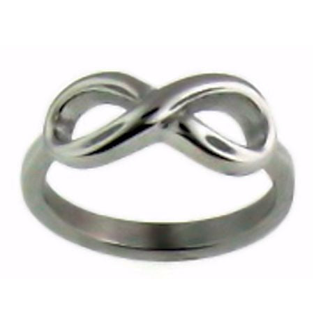 Infinity Ring ~ Stainless Steel