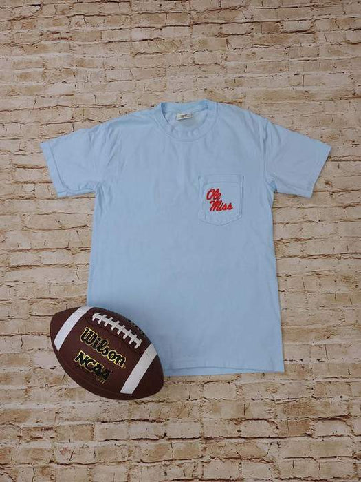 OLE MISS Lane Train Pocket Tee