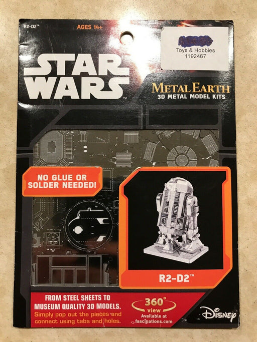 Metal Earth 3D Model Kits