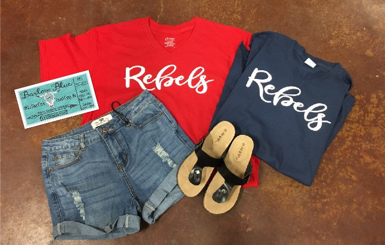 Rebels Tee.  Choose your color!