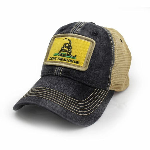 Gasden Don't Tread on Me Flag Trucker Hat