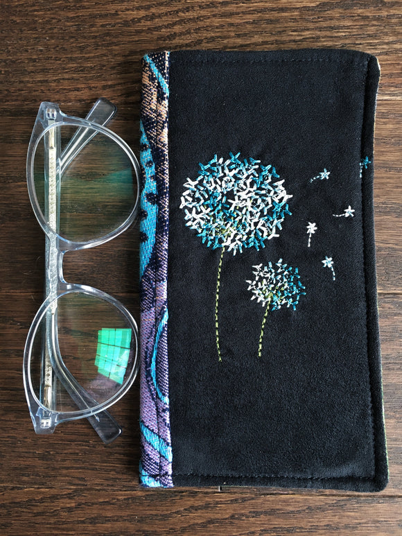 Rainbows & Dandelions Padded Glasses Case