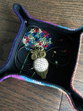 Rainbows and Dandelions Jewelry Tray or Travel Valet