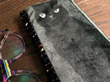 Velvet Kitties Padded Glasses Case